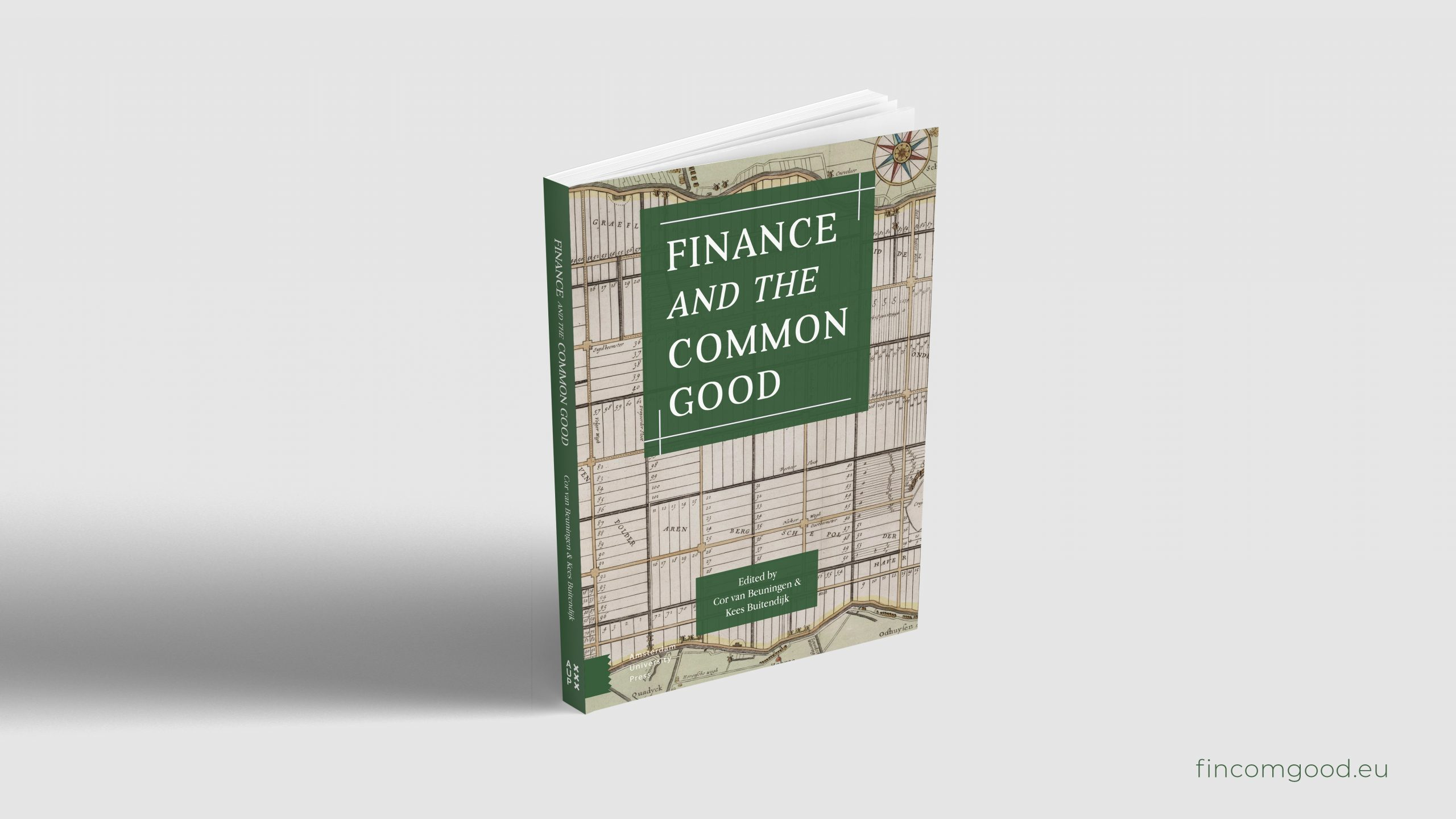 Boekontwerp Finance and the Common Good